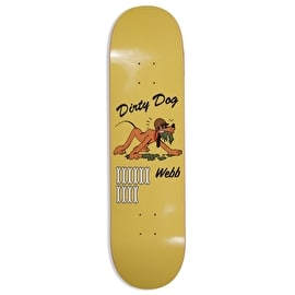 Pizza Skateboards Webb WW3 Skateboard Deck - Yellow - 8.25
