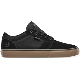 Etnies Barge LS Skate Shoes - Black/Gum