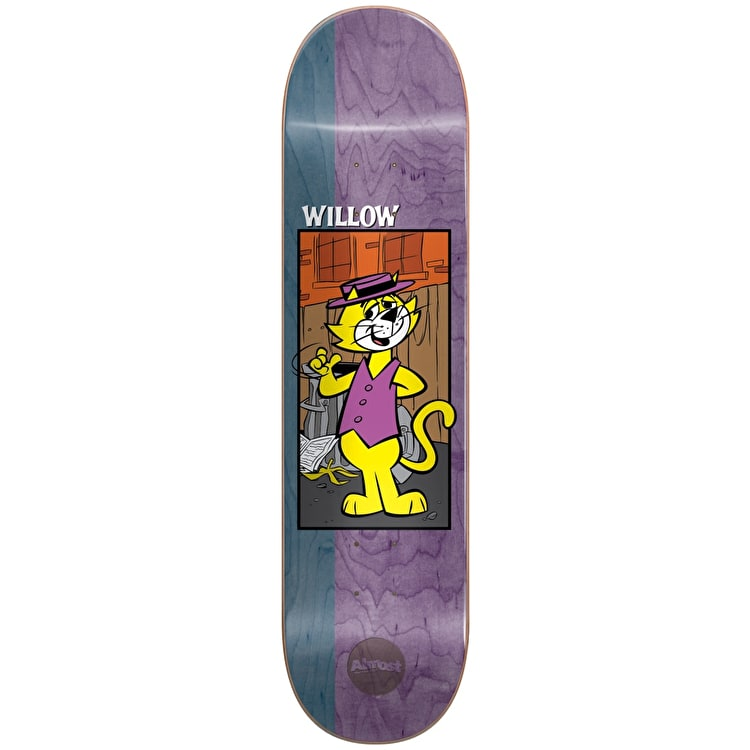 Almost Top Cat R7 Skateboard Deck - Willow 8.375""