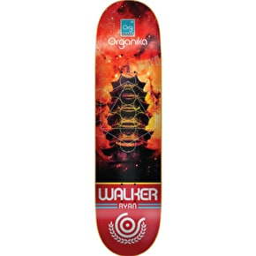 Organika Platonic Skateboard Deck - Walker - 8.25''