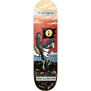 Deathwish Skateboard Deck - Tarot Card Ellington 7.875