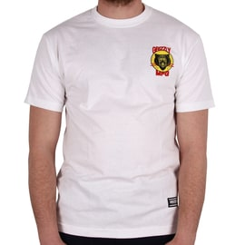 Grizzly Firecracker T shirt - White
