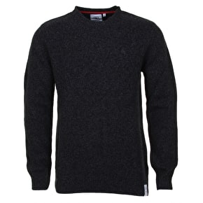 WeSC Kincorth Knit Crewneck - Black