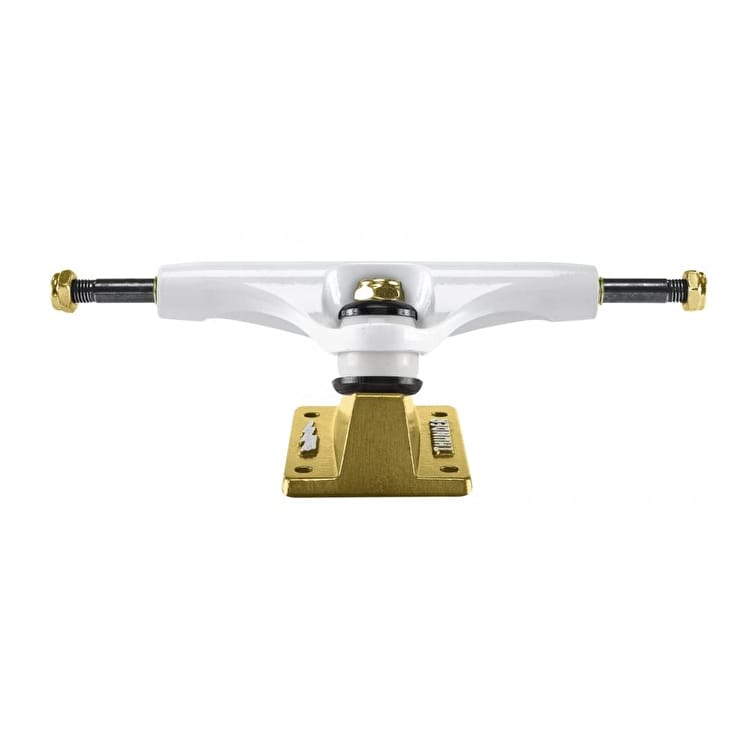 Thunder Hi 147 Lights Phoenix Skateboard Trucks - White/Gold