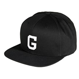Grizzly OG Field F Snapback Cap - Black