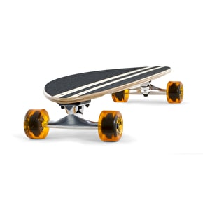 Mindless Tribal Rogue II Complete Longboard - Natural/Orange 38