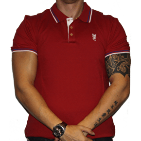WeSC Antartic Polo Shirt Chilli Pepper