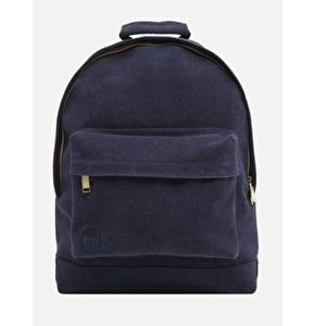 Mi-Pac Suede Backpack - Navy