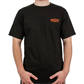 Brixton Cruss Standard T Shirt - Black