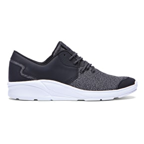 Supra Noiz Shoes - Black/Charcoal/White