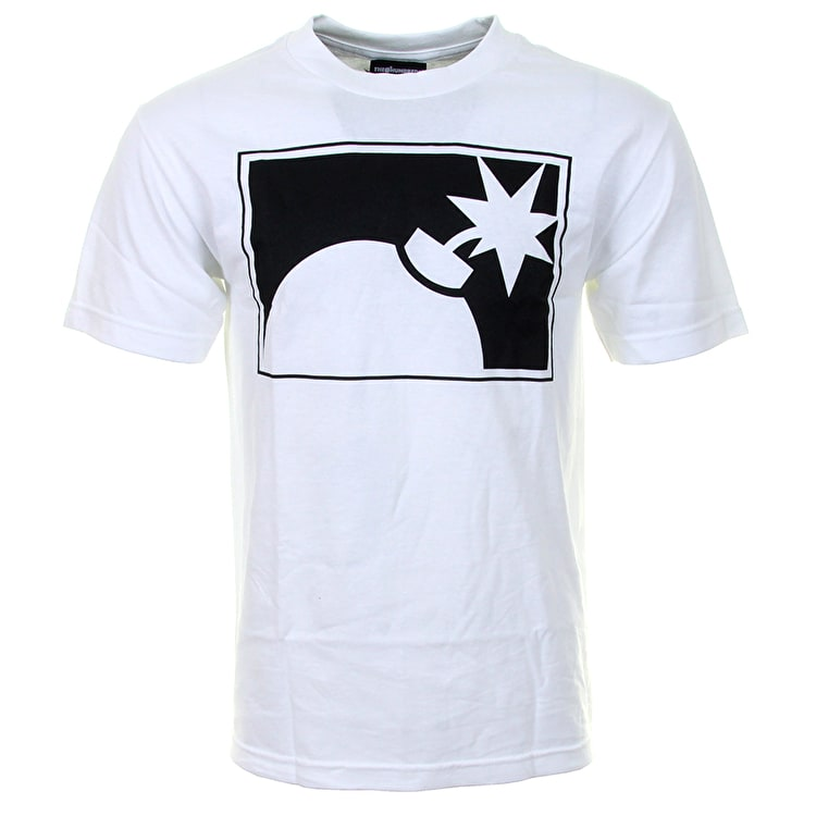 The Hundreds Halfbomb T-Shirt - White