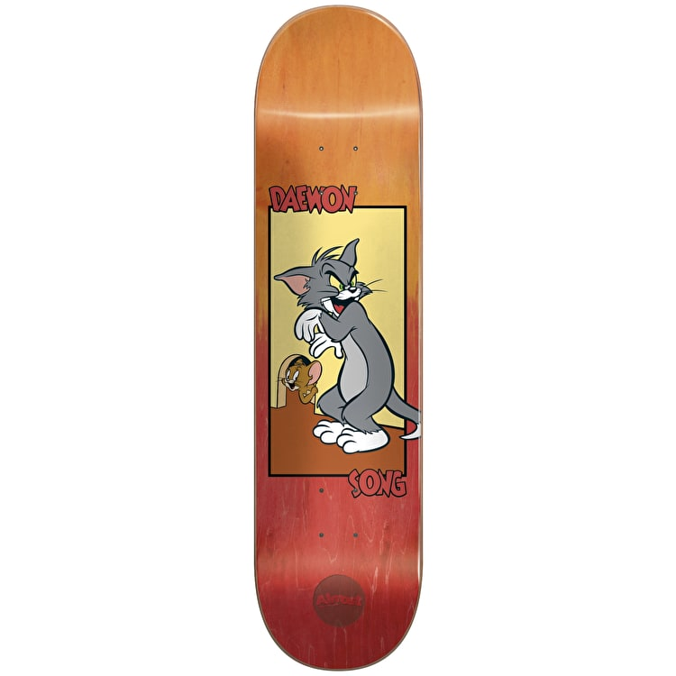 Almost Tom & Jerry Fade R7 Skateboard Deck - Daewon 8""