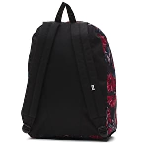 Vans Realm Backpack - Black Dahlia