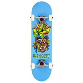 Rocket Mask Series Complete Skateboard - Tribal 7.5