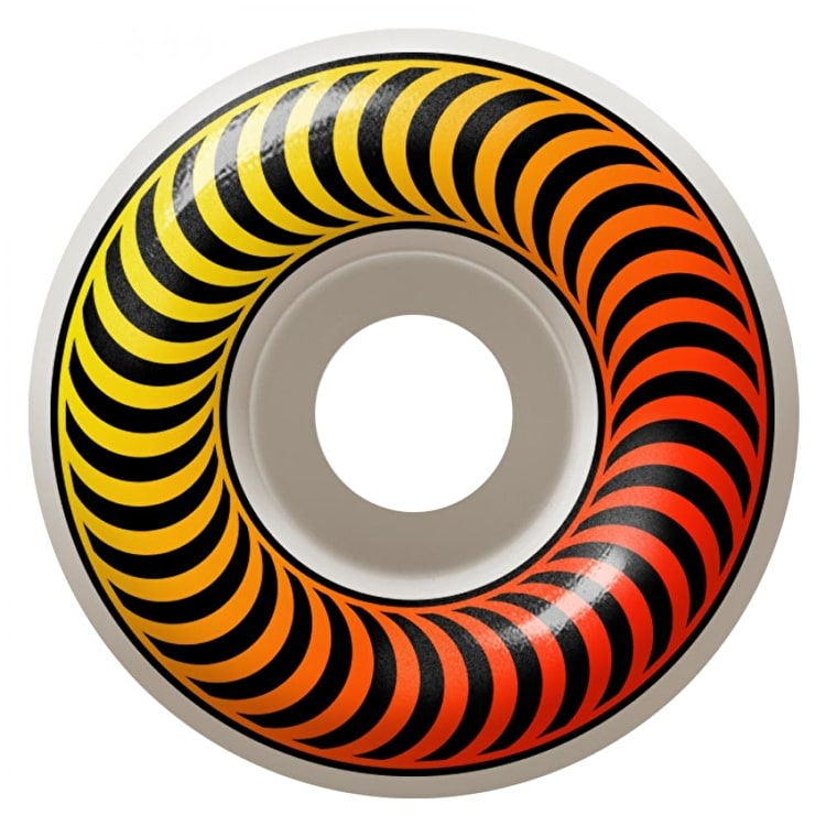 Spitfire Classic Faders 99a Skateboard Wheels - Yellow/Red 53mm (Pack of 4)