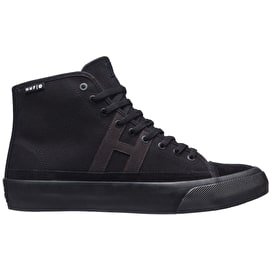 Huf Hupper 2 Hi High Top Skate Shoes - Black