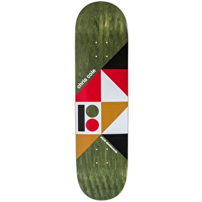 Plan B Geometrics Skateboard Deck - Cole 8.25