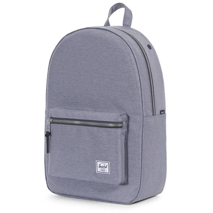 Herschel Settlement Backpack - Mid Grey Crosshatch