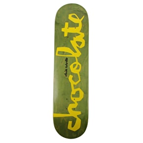 Chocolate Original Chunk Skateboard Deck - Roberts 7.75