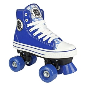 Pop Squad Midtown Quad Roller Skates - Azure Blue