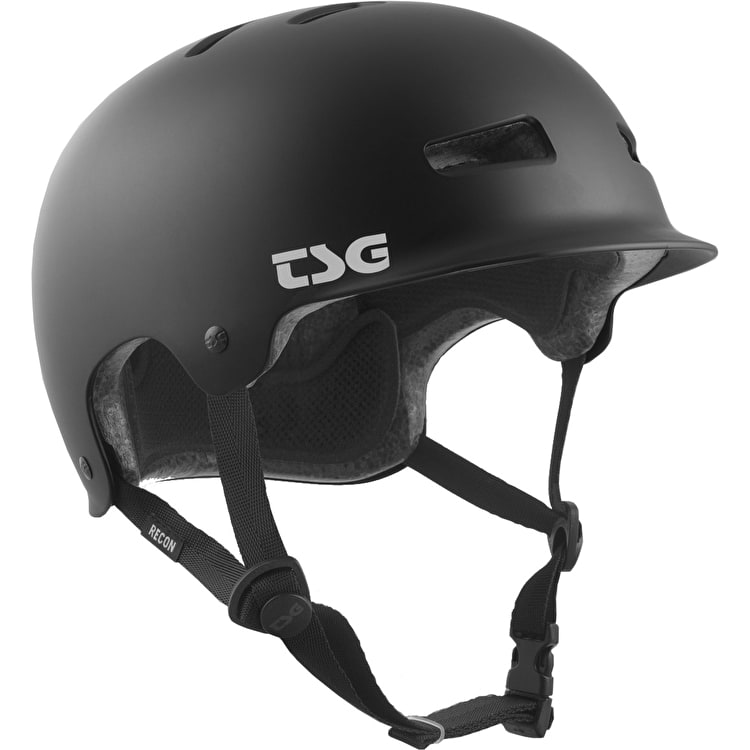TSG Recon Helmet - Satin Black