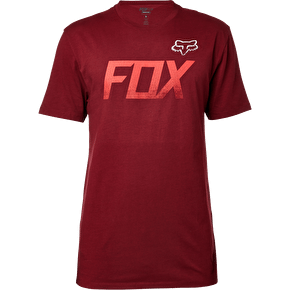 Fox Tuned Premium T-Shirt - Burgundy