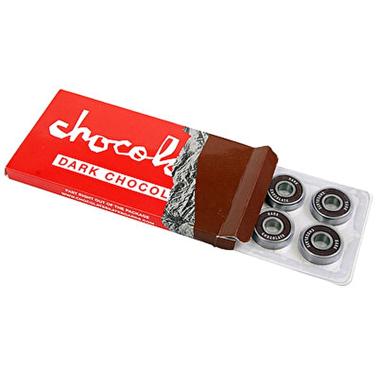 Chocolate Dark Chocolate Bearings (Pack of 8)