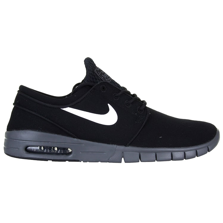 Nike SB Stefan Janoski Max Shoes - Black/White/Dark Grey