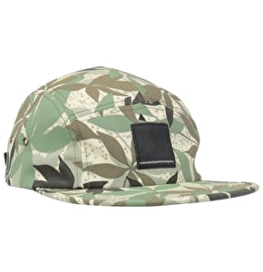 WeSC Pachira 5 Panel Cap - Wood Ash