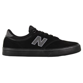 New Balance 255 Skate Shoes - Black/Black