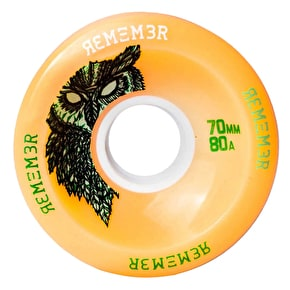 Remember Hoot 70mm Longboard Wheels - Orange