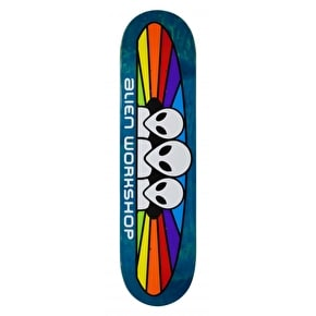 Alien Workshop Spectrum Logo Skateboard Deck - 8