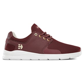 Etnies Scout XT Skate Shoes - Burgundy
