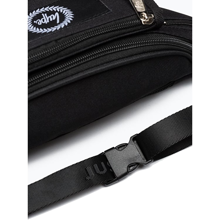Hype Insignia Bum Bag - Black