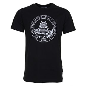 WeSC Max Big Temple T-Shirt - Black