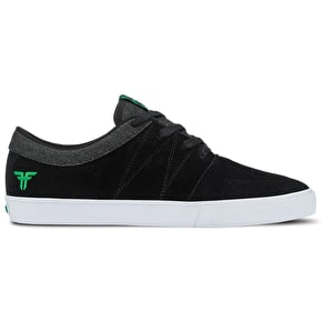Fallen Roots Shoes - Black/Green