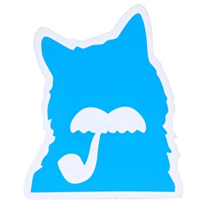 Milk Skateboards Cat Sticker - Blue