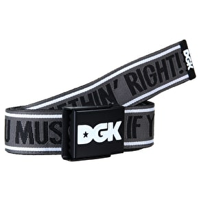 DGK Doin Somethin Scout Belt - Black