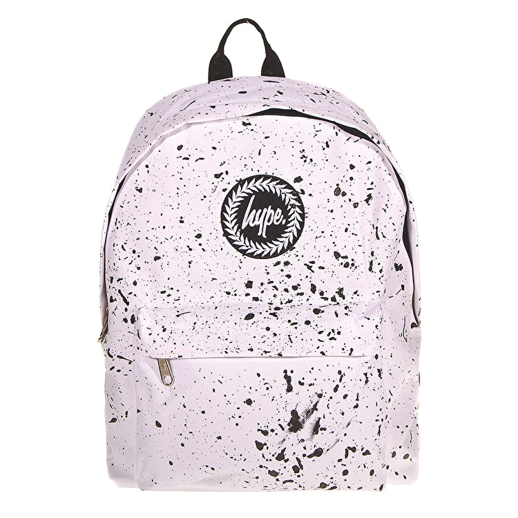 Hype Splat Backpack - White/Black