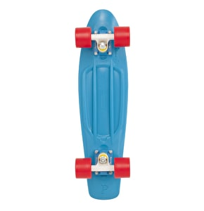 Penny Complete Skateboard - Blue / Red 22