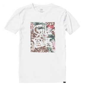 Globe Jungle Box Fill Kids T-Shirt - White