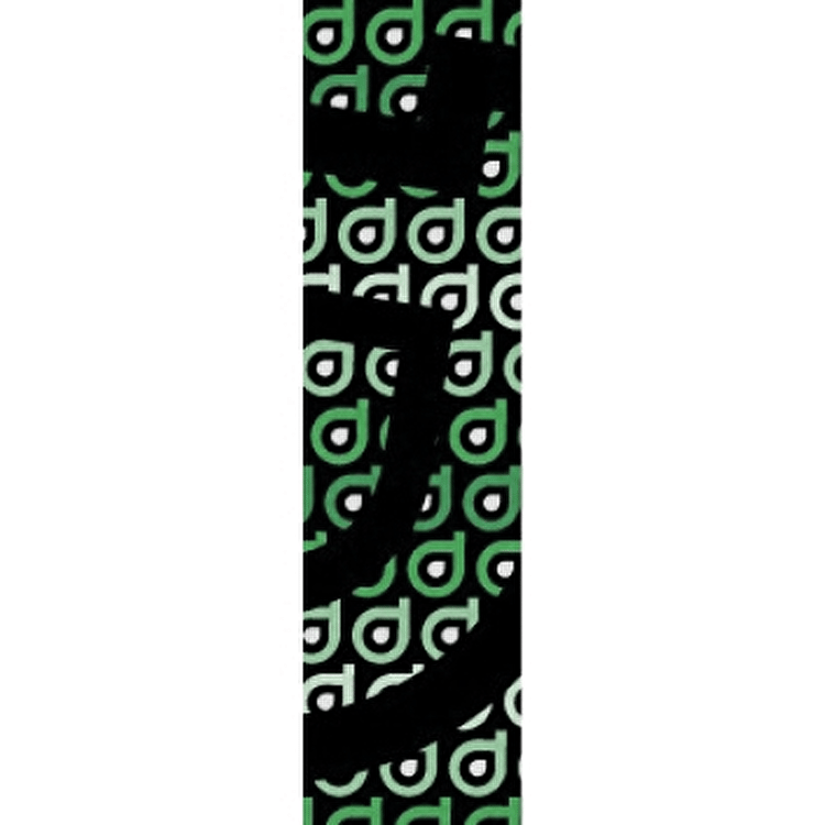 District Scooter Logo Repeat Grip Tape - Green