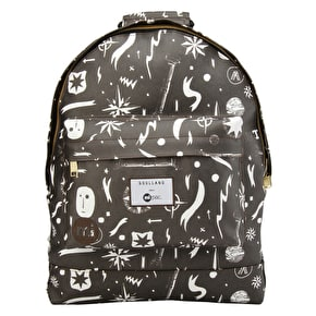 Mi-Pac x Soulland Backpack - Black/White