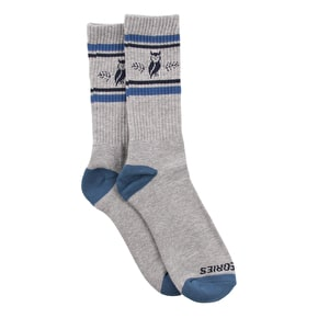 Theories Moluch Socks - Heather/Teal/Navy