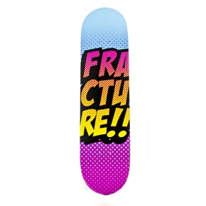 Fracture Skateboard Deck - Comic VT Blue/Pink 8