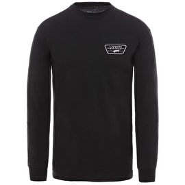 Vans Full Patch Back Long Sleeve T Shirt - Black/Violet Ice