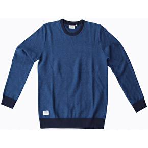 WeSC Gino Sweater - Blue Iris