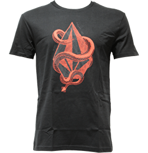 Volcom Snake Craddle Basic T-Shirt - Black