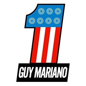 Spitfire Mariano No.1 Skateboard Sticker - M
