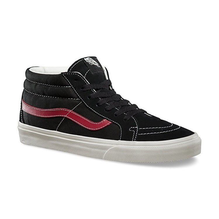 Vans SK8-Mid Reissue Shoes - (Sport Vintage) Black UK Size 8 (B-Stock)